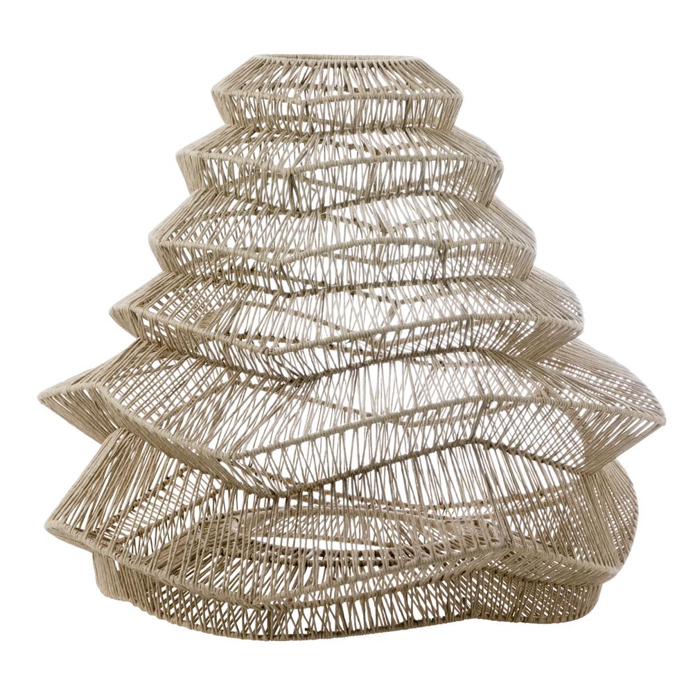 Lampskärm av återvunnen kartong, 22 cm Designinteriör